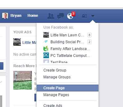Facebook Keeping Personal and Business Separate - Building