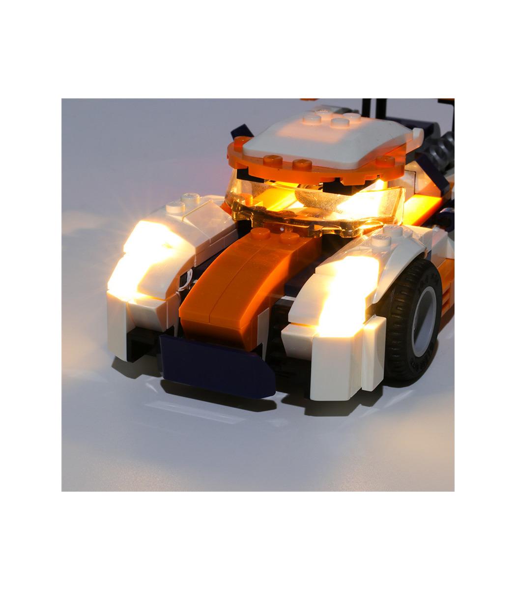 light kit for sunset track racer led
