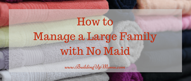 Managing a large household with no maid in Singapore