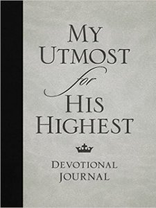 Quiet times with Jesus using Oswald Chambers' The Utmost for His Highest