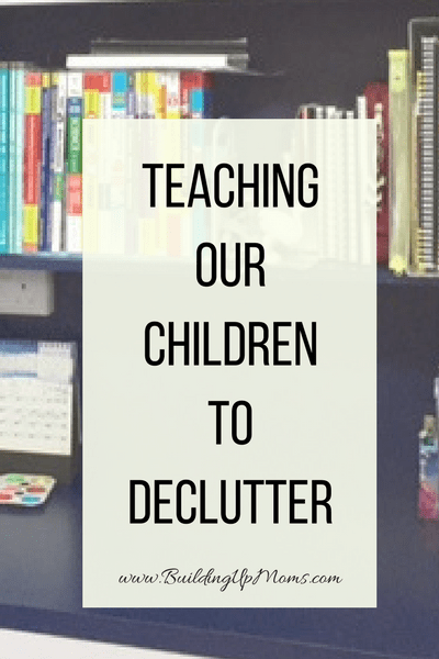 Whether you use the KonMarie method or not, do teach your children to declutter.