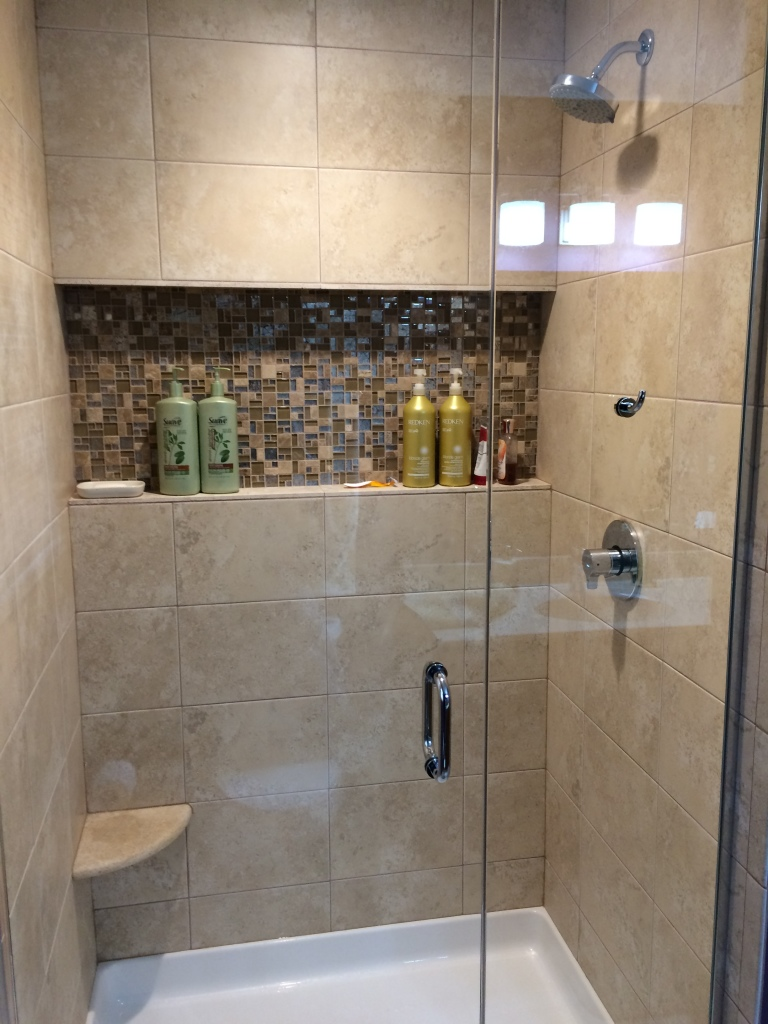 Shower Niches Shelves Amp Seat Gallery Build It Right In