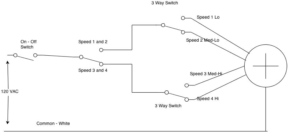three speed furnace fan motor wiring