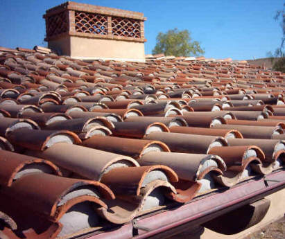 cooling clay tile roofs with roof