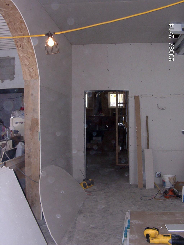 how to build a kitchen cabinet island pendant interior construction -- schoolhouse energy retrofit