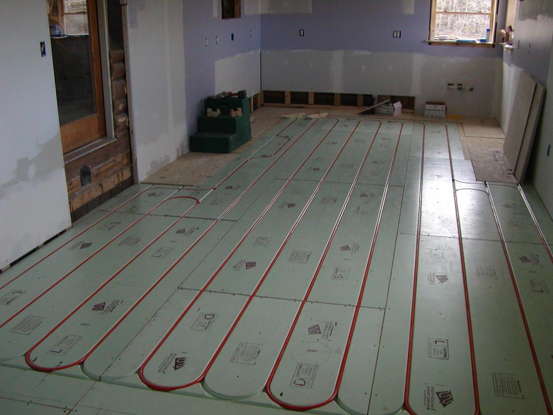 hight resolution of warmboard radiant heat floor