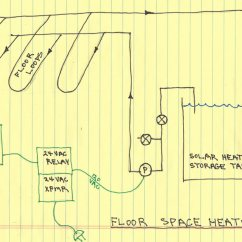 Electric Hot Water Heater Thermostat Wiring Diagram 4 Wire Motor $2000 Solar Space + Heating System: Installing The System Controls