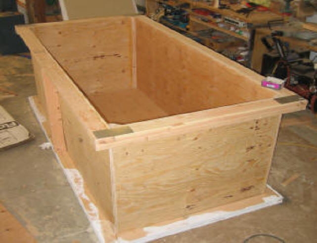 roll your own plywood watertank  natural comfort by design