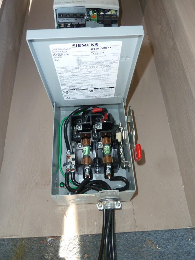 Ac Power Plug Wiring Diagram Charging An Elec Trak Tractor With A Grid Tied Pv Array