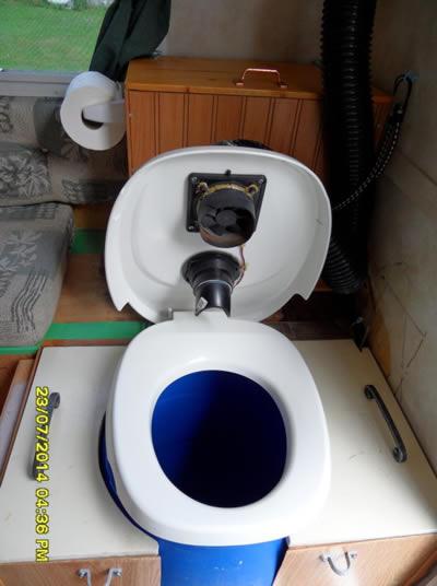 RV DIY Composting Toilet