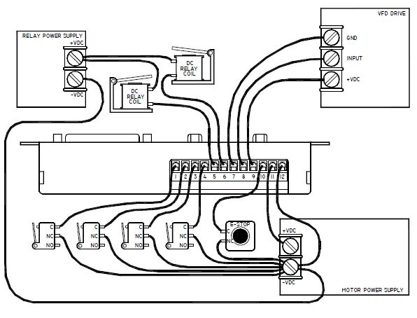 Gecko G540 Stepper Db9 Wiring Diagram : 37 Wiring Diagram