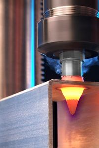 thermal friction drilling at