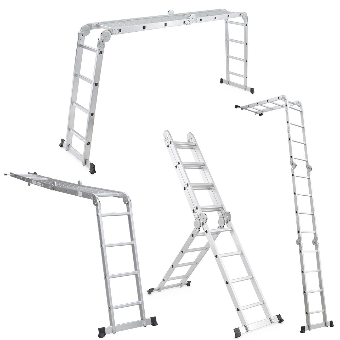 15 5 Ft Multi Purpose Aluminum Folding Step Platform