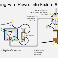 Wiring Diagram Of A Ceiling Fan 2000 Jeep Cherokee Sport Stereo Fans Diagrams Schematic Power Into Light Module