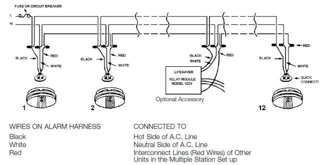 conventional smoke detector wiring diagram helvar electronic ballast fire-alarm-installation