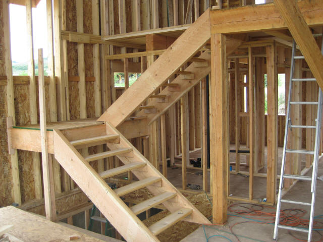 Rough Cut Lumber Interior Walls