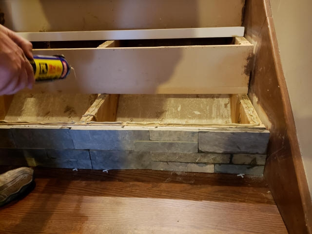 Staining And Installing Hardwood Stairs Remodel Old Carpet Stairs   American Oak Stair Treads   Stair Case   Stair Railing   Hardwood Floors   Beech American   Walnut