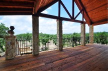 Red Sky Austin Texas Passive Solar Home Native