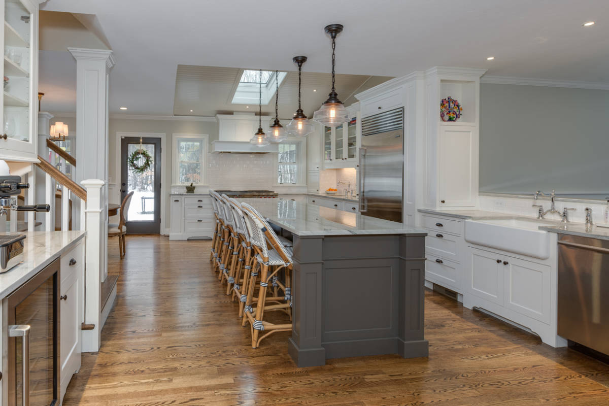 kitchen addition & home remodel, bedford nh