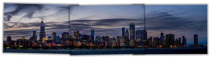 City - Chicago Skyline