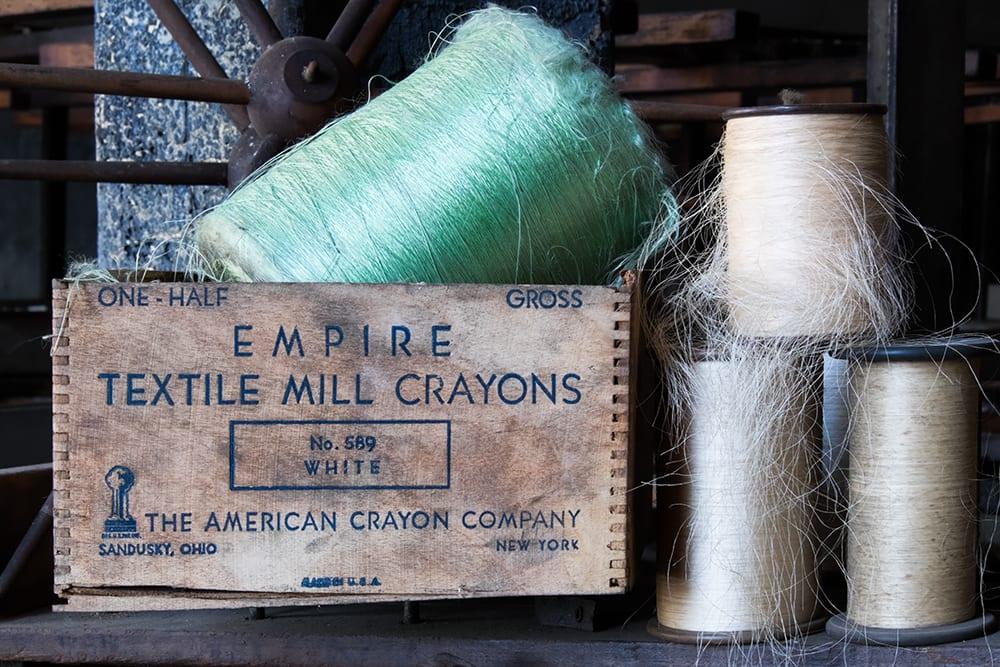 Still Lifes: Lonacong Silk Mill by Jeff Stoner