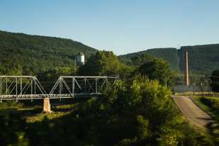 Smoke Stack (Virginia, Fall 2007, Cardinal Route)