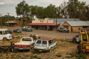 Liquor and Post (Colorado,Summer 2012, Southwest Chief Route)