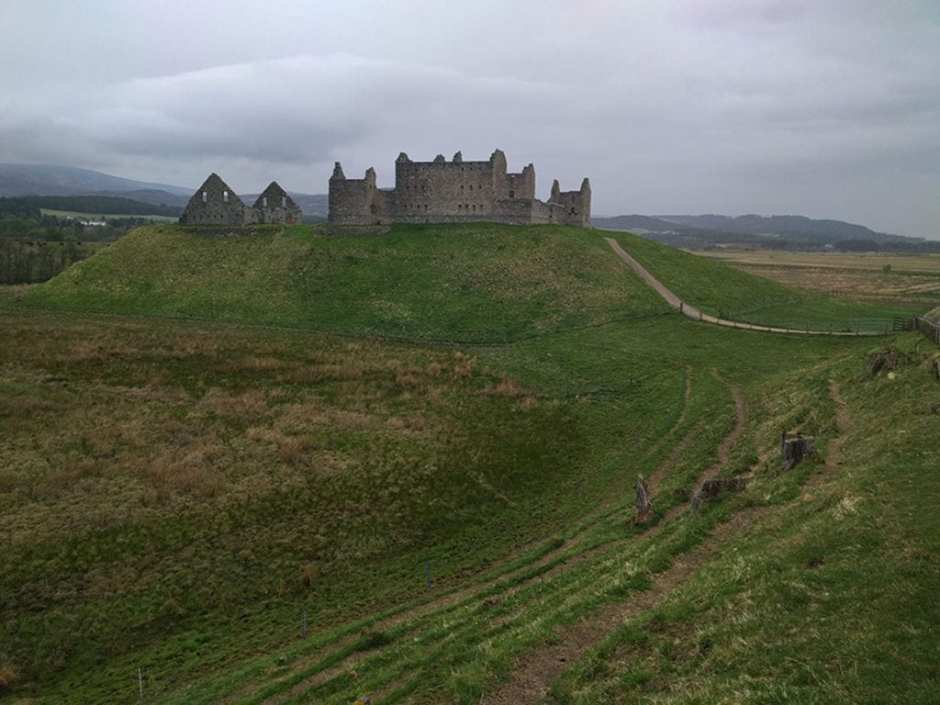 15.Ruthven Barracks, one mile outside the small town of Kingussie. One can almost smell the burning oil being poured on the marauding Jacobites. The Brits lost this one.