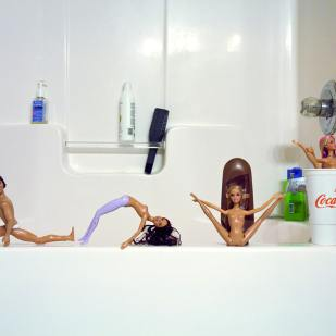 Barbie Gymnasts ©PollyGaillard