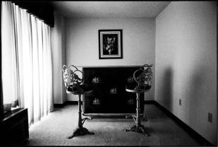 Interior Bar Stools, Texas, ©David Carol