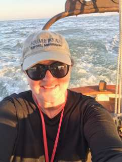 Selfie #2. SO happy to be aboard! ©NancyMcCrary