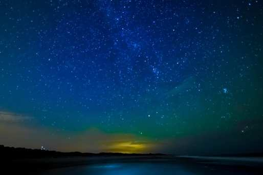 We Are Humbled: Milky Way over Dewees