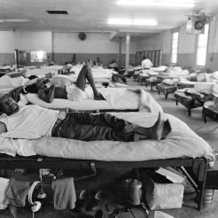 Angola Dormitory, 1981 ©Keith Calhoun