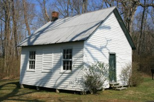 One-room African-American schoolhouse (1890-1944 in Drayden