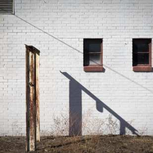 White Brick and Shadow, Selma, AL ©Forest McMullin
