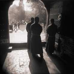 Llama Temple Monks ©Michael Kirchoff
