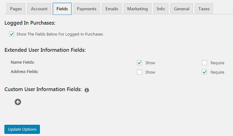 خيارات اضافة MemberPress