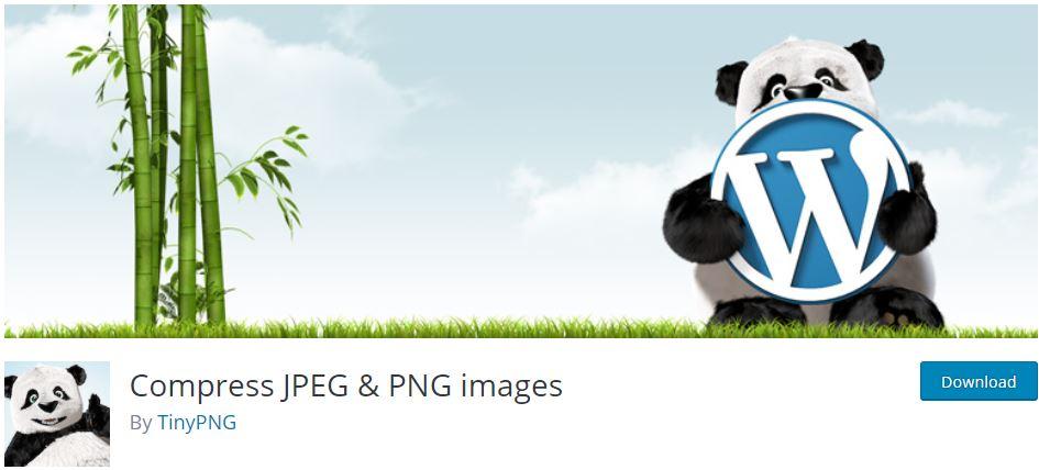 إضافة Compress JPEG & PNG images لضغط الصور