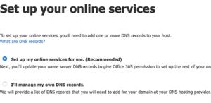 ادارة سجلات DNS