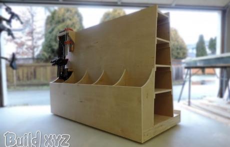 Build a Plywood Lumber cart