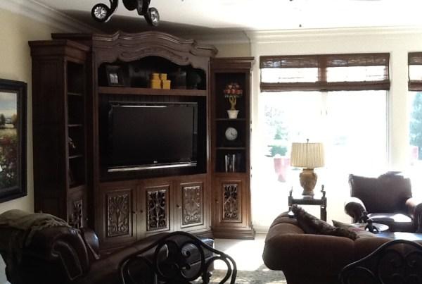 Indianapolis Custom Home Builders - Living Room Interior Design