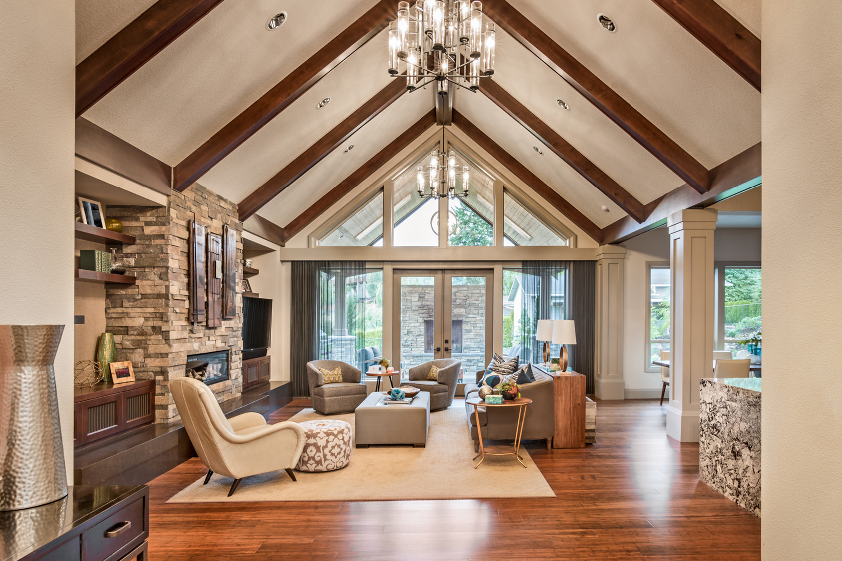 4 ceiling types for your custom built home hamilton homes for Types of ceiling designs