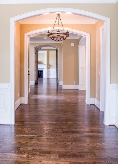 Hallways are an integral aspect of every great custom home design.