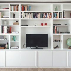 Living Room Media Furniture With Cup Holders Built In Tv Units Cabinet Large