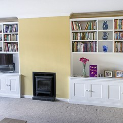 Living Room Cabinets Built In Most Popular Paint Color For Gorgeous Cupboards Your Alcove Modern Style