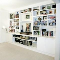 Living Room Media Furniture All Black Built In Tv Units Bespoke Cabinet And Shelves