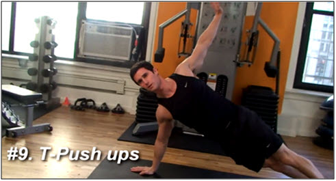 Push Up Variations & Exercises 9
