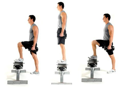 Image result for Step up exercises