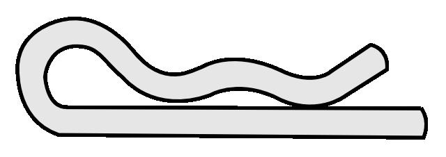 Clip voor montage afstandsbedieningskabel, Klijzing Yamaha
