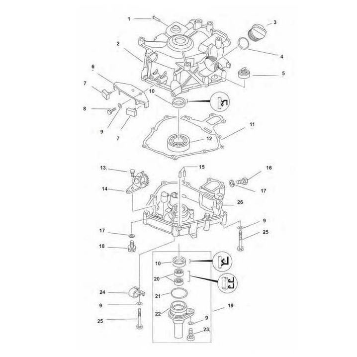 Motorblok Onderdelen 4-Takt Yamaha buitenboordmotor kopen?